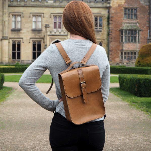 Orgill Origjnals Leather Backpack
