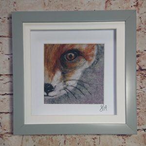 Adors, needle felt artist- fox. Pedddle