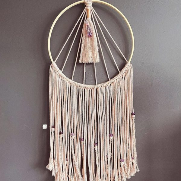 White January, Full Moon Wallhanging. Pedddle