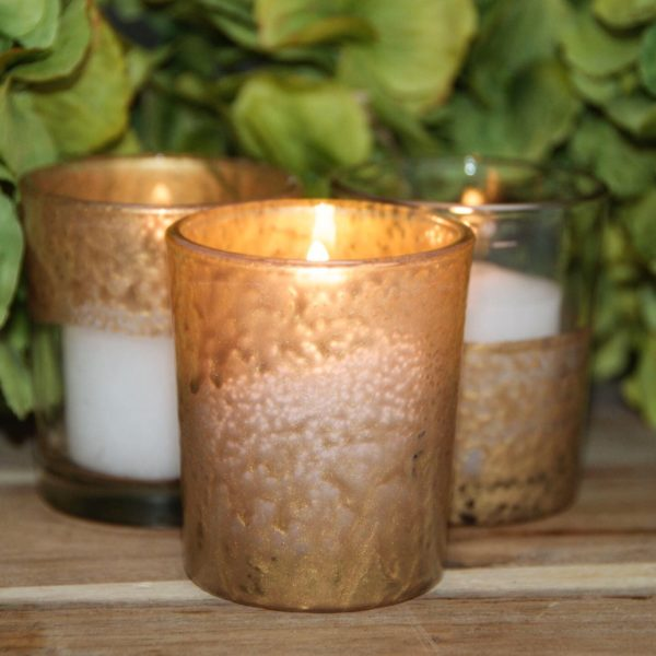 Gilded Votive candle holders, Gilded Chambers