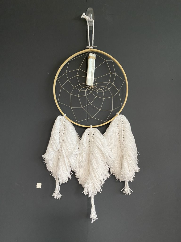 White January, Bohemian Macrame / Crystal Dreamcatcher. Pedddle White January, Macrame 2. Pedddle