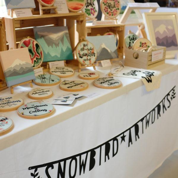 Snowbird Artworks Stall