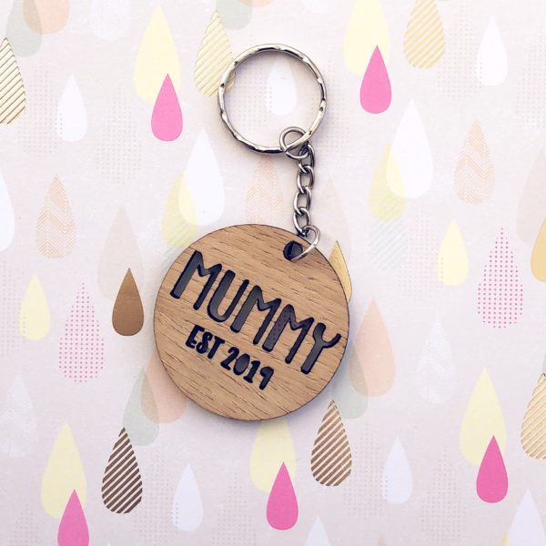 Hannah Joy Designs, Personalised Family key ring