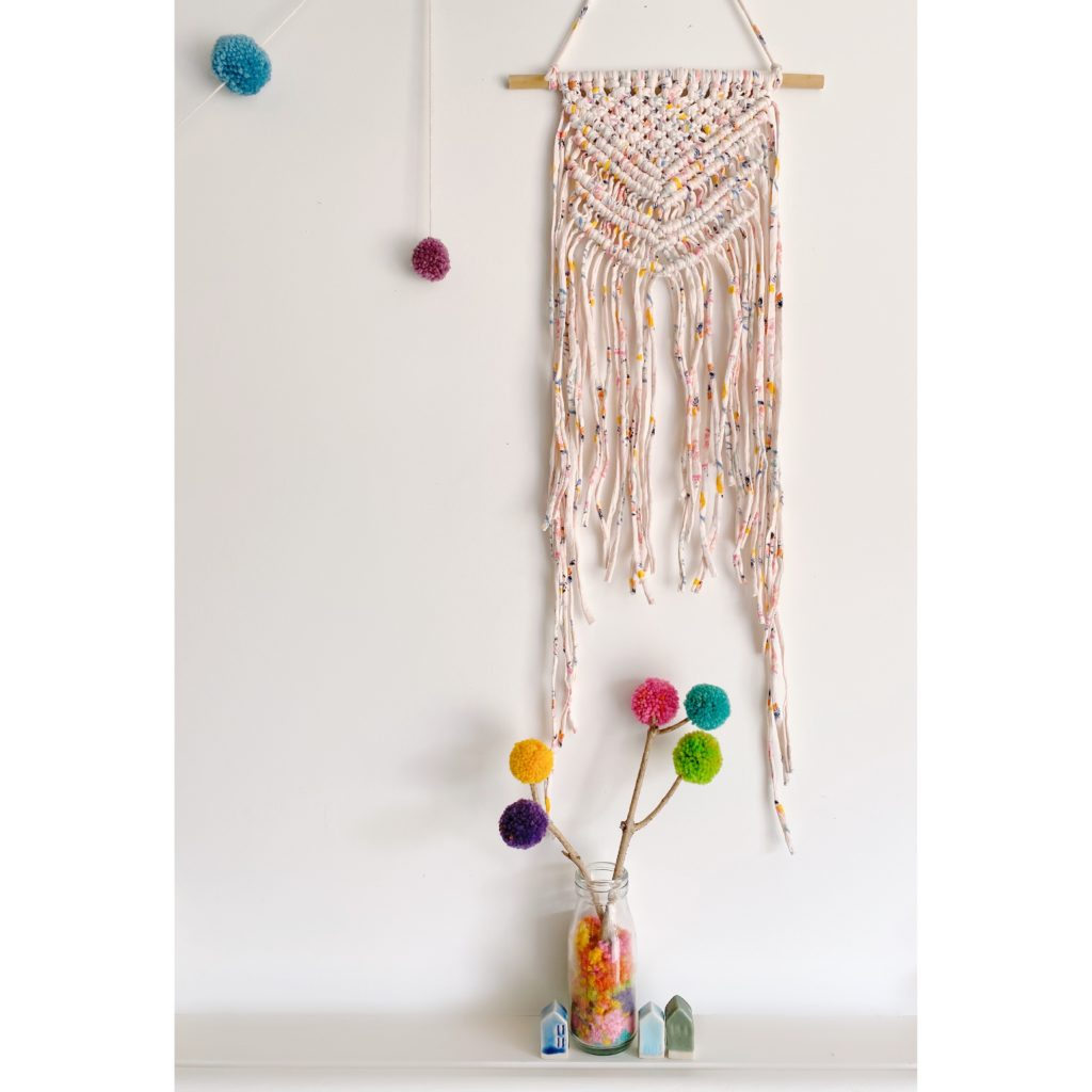 White January, Limited Edition RAOK Macrame Wall Hanging