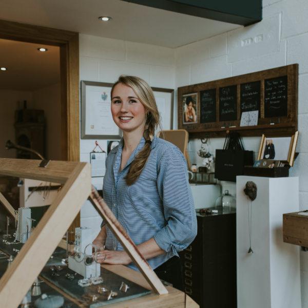 Alice Clarke Jewellery, UP Market Harrogate