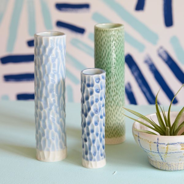 Series of Anna vases by Clara Castner