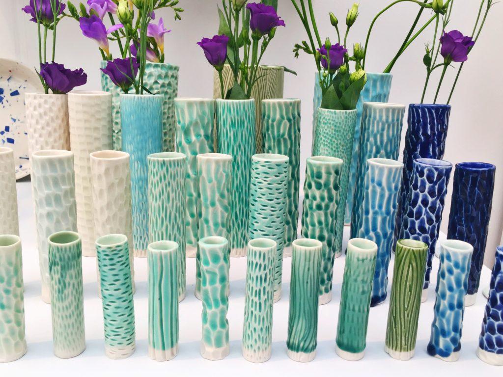 Anna vases by Clara Castner