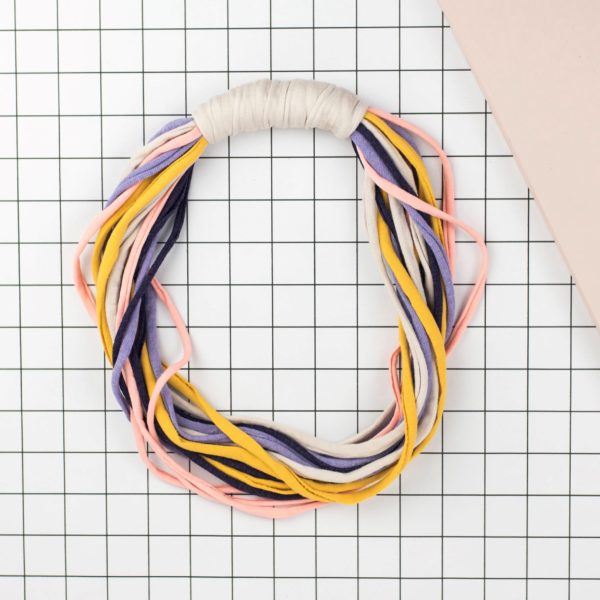 Elastic headbands, Lucy Waller. Pedddle