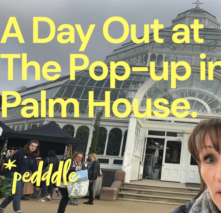 What is the Pop-up in the Palmhouse like? Pedddle