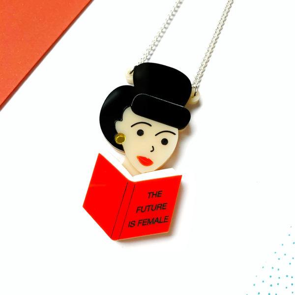 Miroo, The future is female necklace