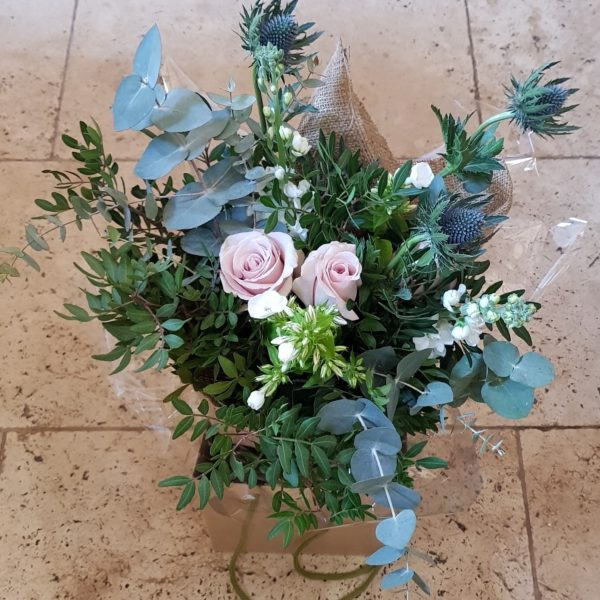 Willow and Rose, Rose Hand Tied Bouquet