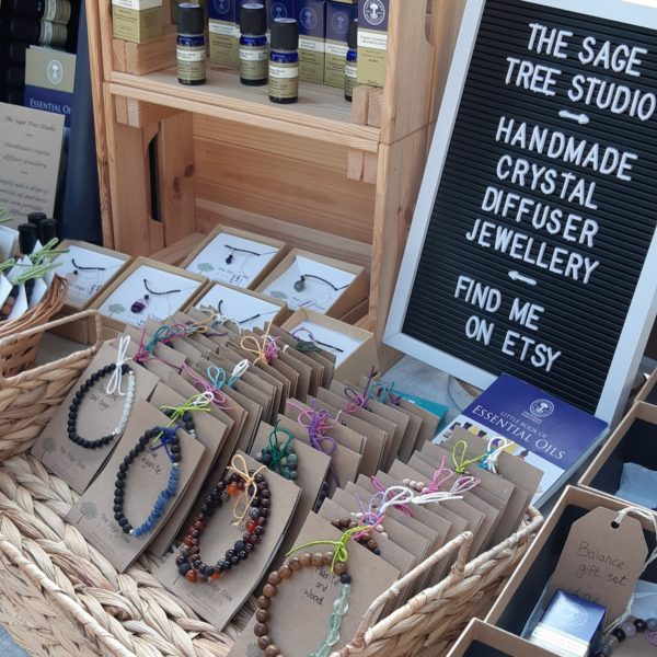 Example of typical stall set up, The Sage Tree Studio