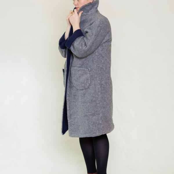 Fully reversible Marianne coat