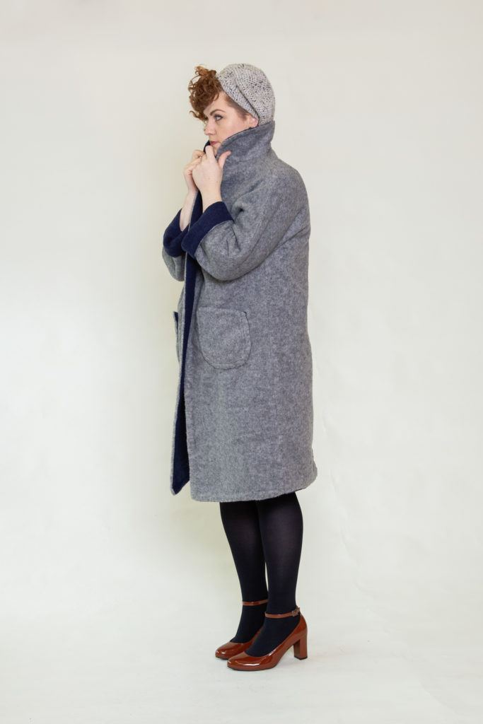 Fully reversible Marianne coat