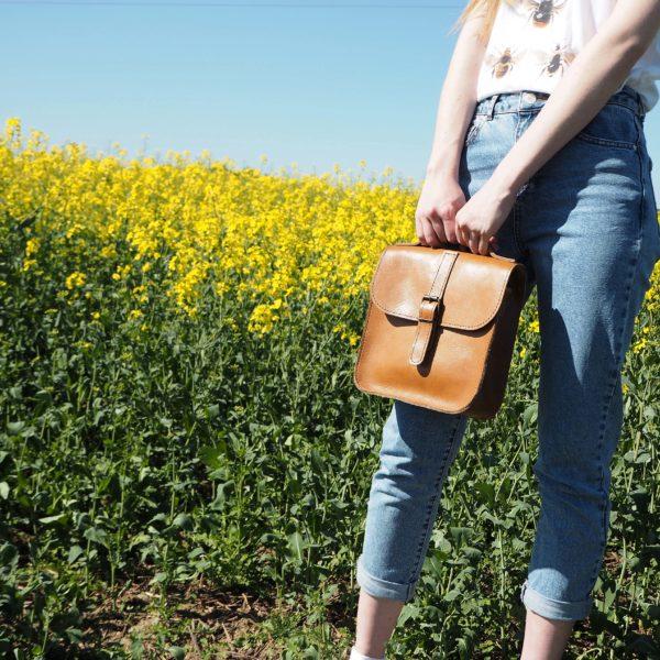Orgill Originals Leather Messenger Bag