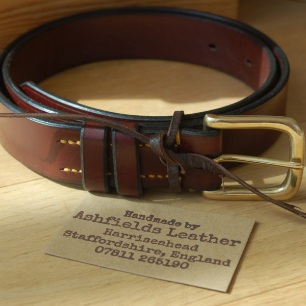Ashfields Leather, Gents Belt