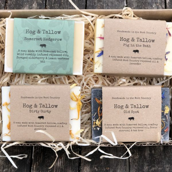 Hog & Tallow, hand made soap large boxset