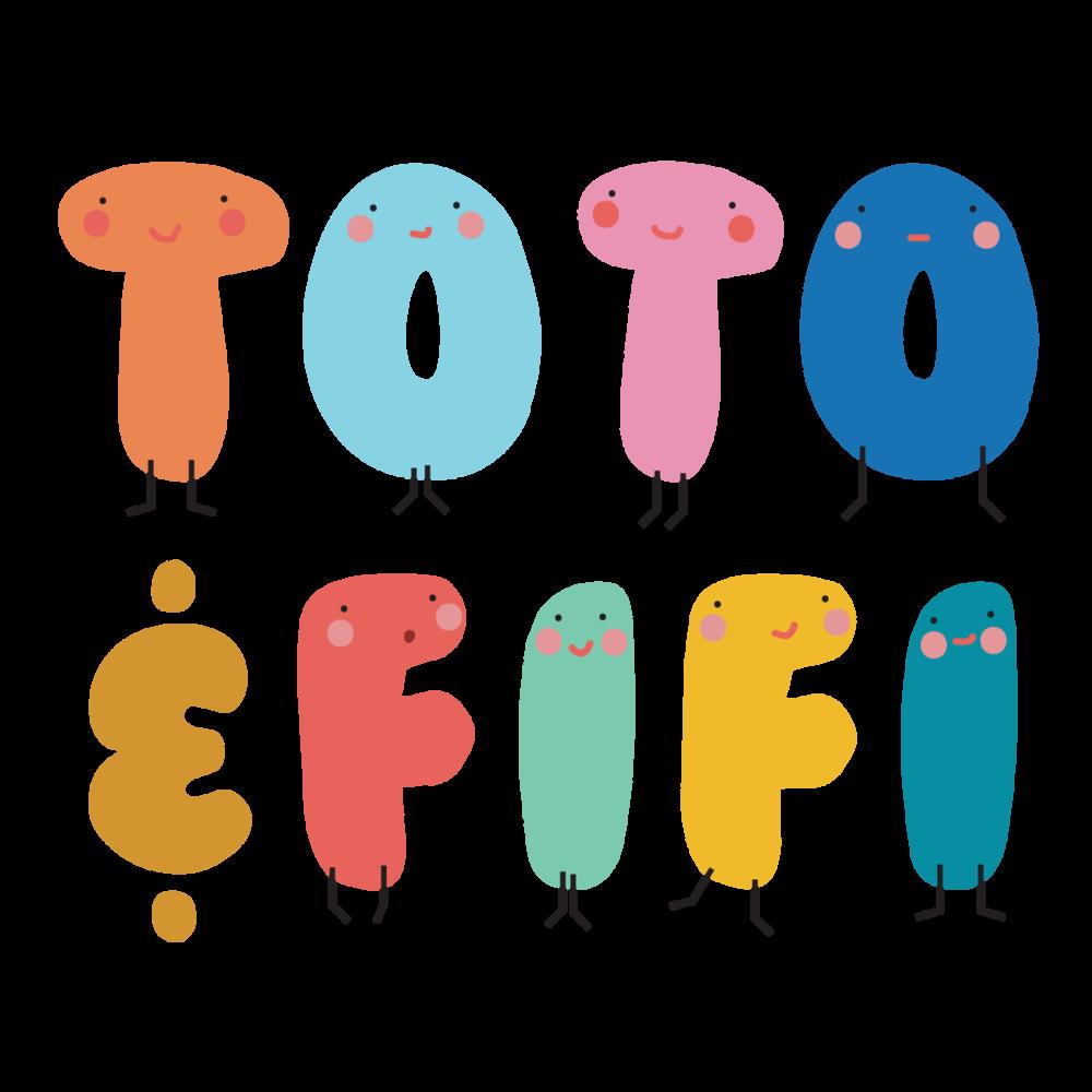 Toto & Fifi logo. Pedddle.