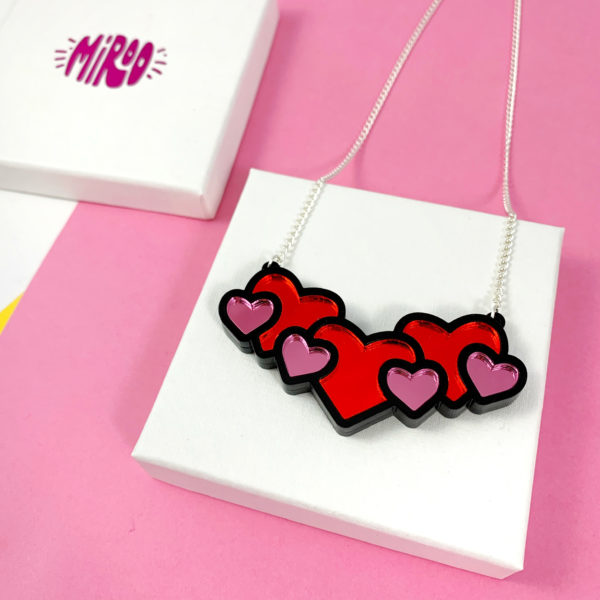 Miroo- Hearts necklace