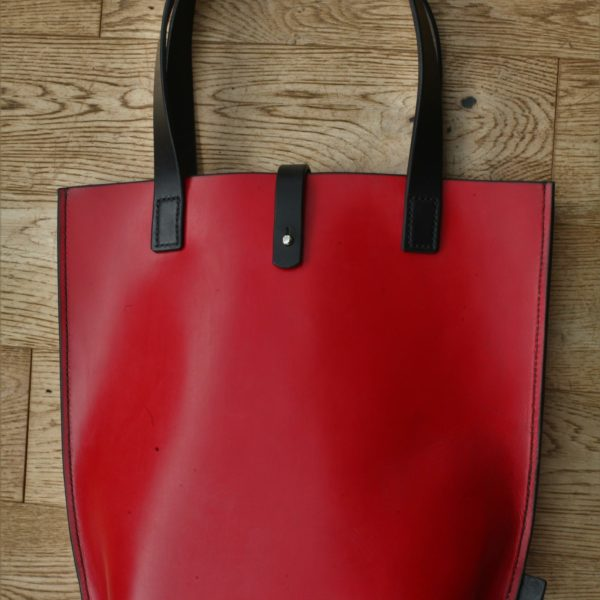 Ashfields Leather, Red Tote