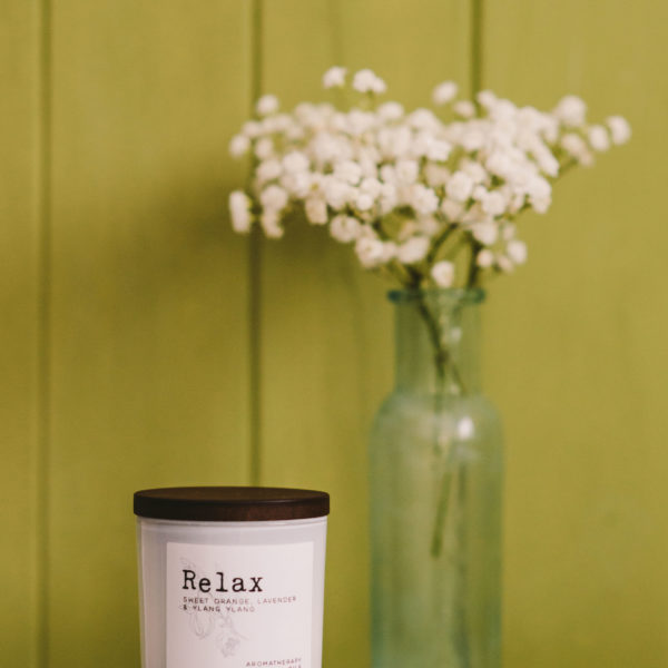 Therapy & Scent, relax candle