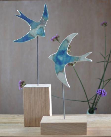 Lorna Gilbert Ceramics, swifts oak 2
