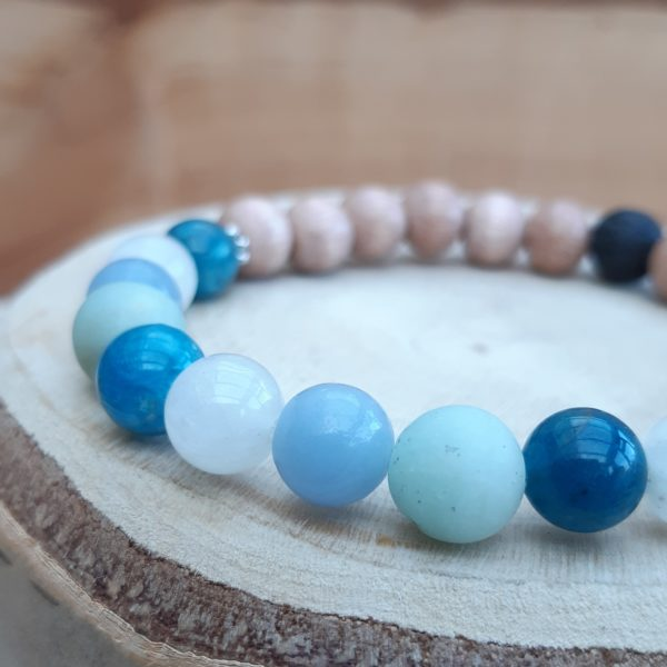 Blue Moon diffuser bracelet, The Sage Tree Studio