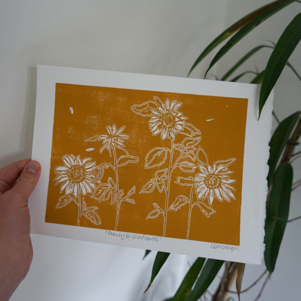 LDMDesign-Family of sunflowers