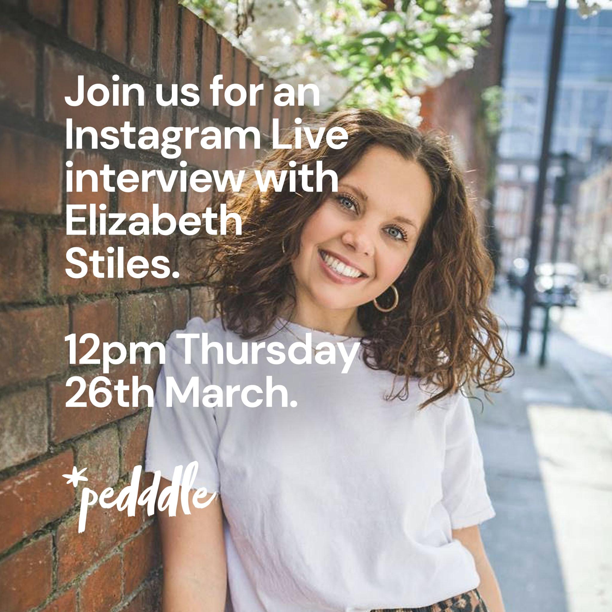 Elizabeth Stiles interview, Pedddle