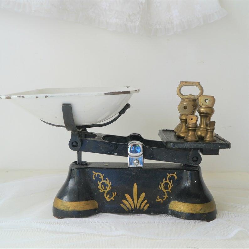 Vintage scales, Becky Adams. Pedddle