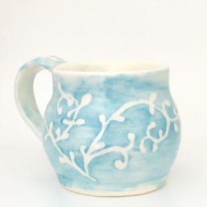 Handmade ceramic expresso mug
