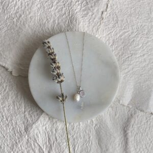 Bethan Corin Pearl with Silver