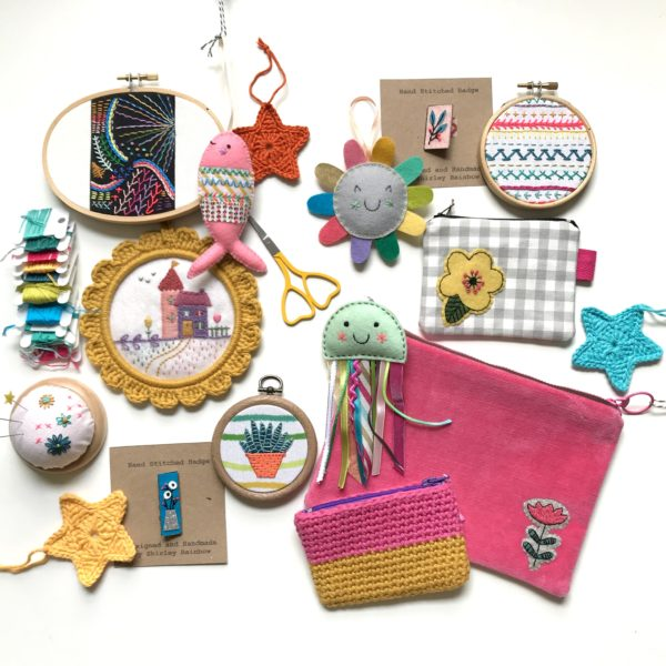 Selection of products available from Shirley Rainbow