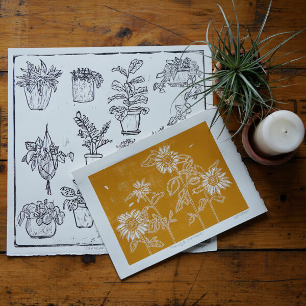 LDMDesign- Original Linocut prints