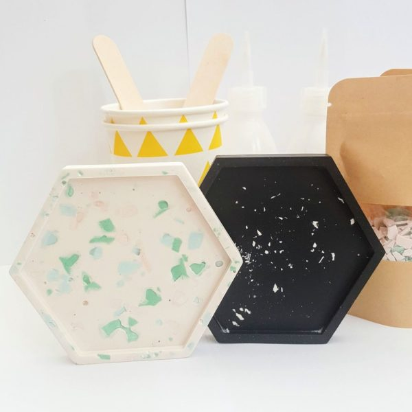 DIY Terrazzo Coaster Kit Tawking Point