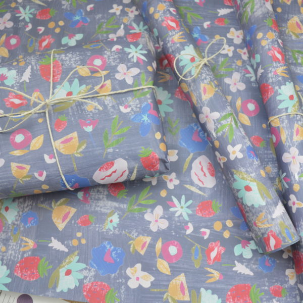 Dolly Pepper Studio, Giftwrap, Wrap, Floral Wrap