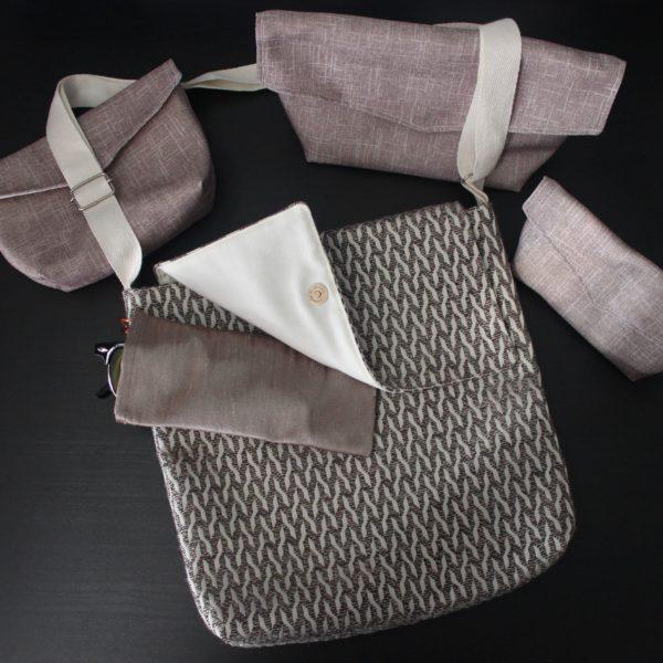 Aimee Lou Costume & Creations Messenger Handbag