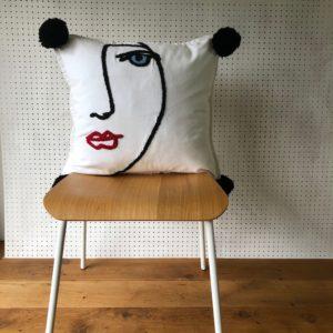 Consciously Creative, Needle punch Muse cushion