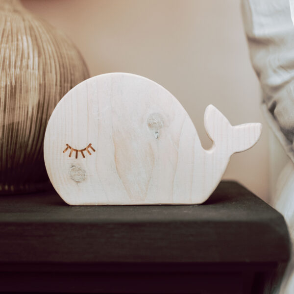 Fern and Thistle, Whale