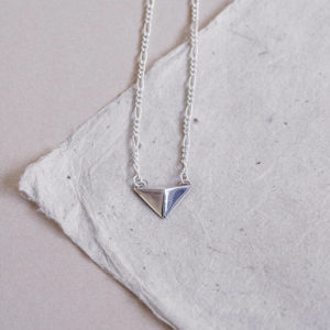 Laconic-Facet-Triangular-Silver-Choker-Necklace-Packshot