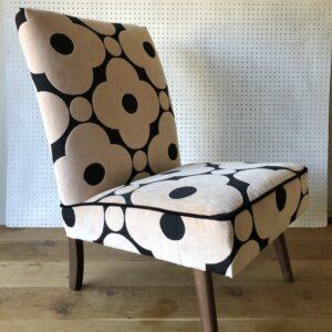 Consciously creative, Orla Kiely cocktail chair