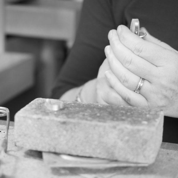 hands making