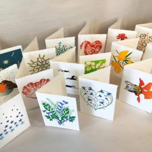 Elly Rowbotham Printmaker, Hand Printed LinoCut Cards