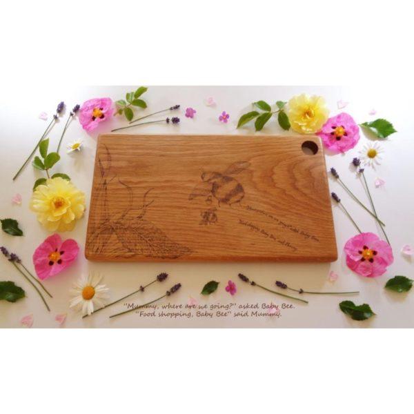 Bumble Bee Chopping Board