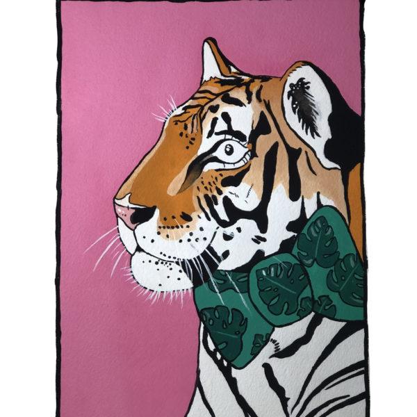 Sarah Downes Design Tiger print
