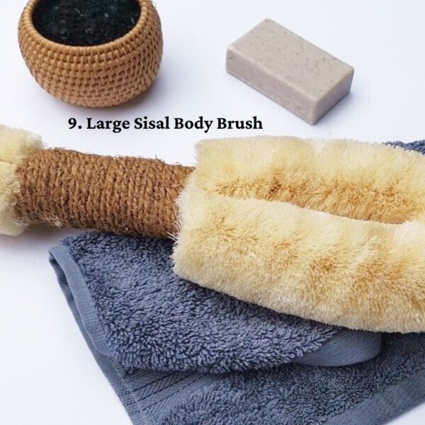 Large Sisal Body Brush - ELYTRUM