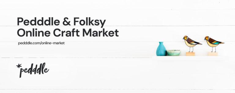 Folksy & Pedddle online craft market