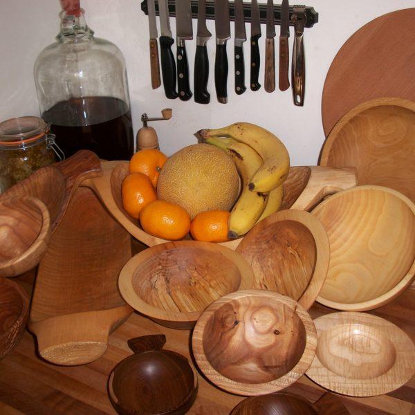 Natural Wood bowls