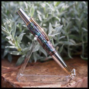 RG Pens, Handmade Pau Abalone Pen