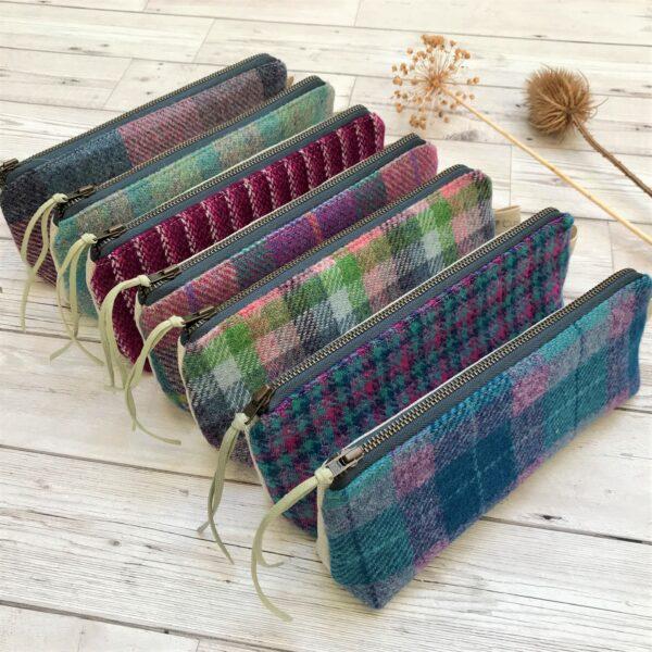 Cushie Doo Textiles Scottish Tweed Pencil Cases
